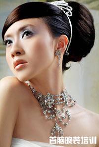 新娘抓纱及头饰搭配,脸型与发型的关系