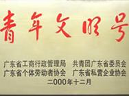 2000年青年文明号