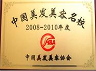 2008-2010中国美容美发名校