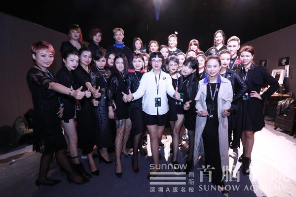 2017深圳时装周首脑学院化妆造型团队